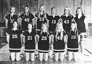 1973 Ewen Trout Creek Girls State Champs