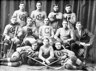 1910 Calumet Hockey Team