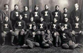 1901 Ishpeming High Football Team