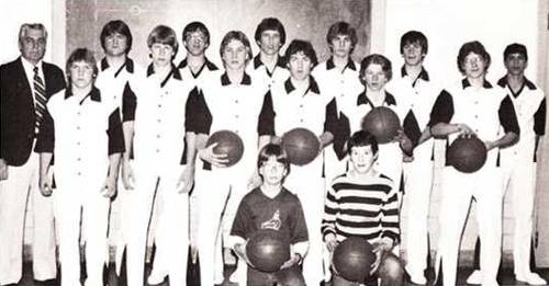 1983 Wakefield boys varsity basketball team