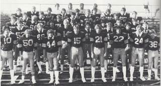 Iron Mountain Boys' Football 1981-82