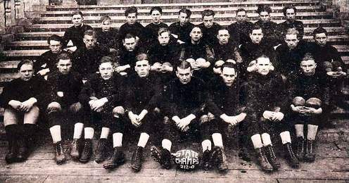 1925 Ironwood H.S. Football Team